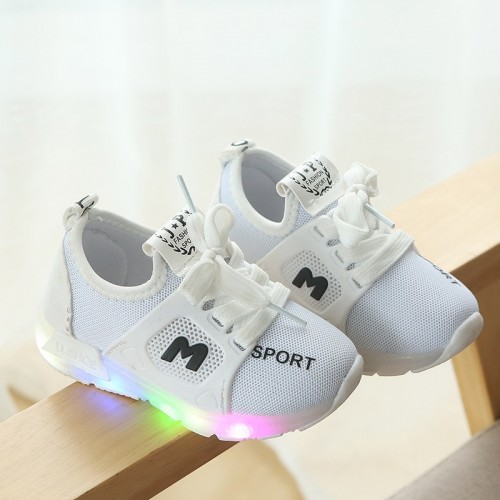 European Lovely Spring autumn baby first walkers Lace up All seasons baby sneakers