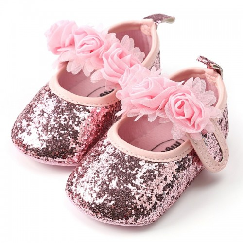 Floewers Baby Shoes Spring Newborn Baby Girl Shoes Flowers First Walkers Princess Flowers Shoes For