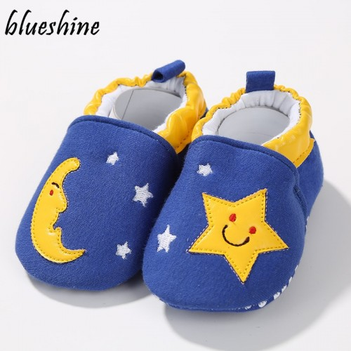 Spring Baby Girls Boys Shoes Newborn First Walkers Cotton Fabric Infant Toddler Baby Moccasins Baby Shoes