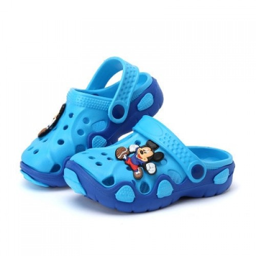 Fashion New Summer Children Cartoon Characters Cave Shoes Boys And Girls Slippers sandals two wear 5.00$