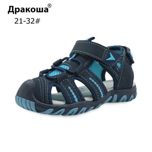 New Summer Children Beach Boys Sandals Kids Shoes Closed Toe Arch Support Sport Sandals