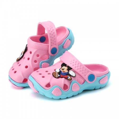 New fashion children garden shoes children cartoon sandal babies summer slippers high quality kids garden 5.25$