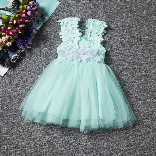 Newborn Baby Girl Clothes Dress For Girl 1 Year Birthday Gift Flower Tulle Kids Party Dresses