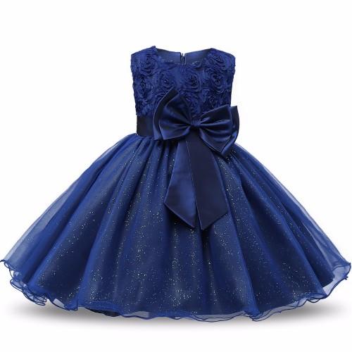 Sequin Girl Dress Bebe Children Clothing Wedding Party Girls Dresses first birthday Clothes Newborn Princess Infant