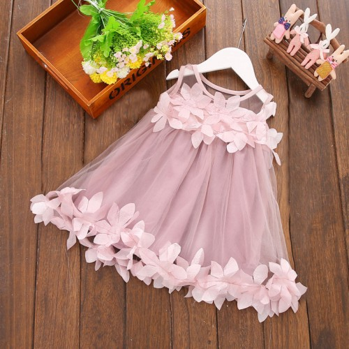 Summer children s clothing the new version of the Korean children s clothing princess dress
