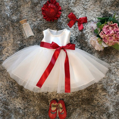 newbron baby first birthday dress outfits kids dresses for girls christening party wear baby costume infantil