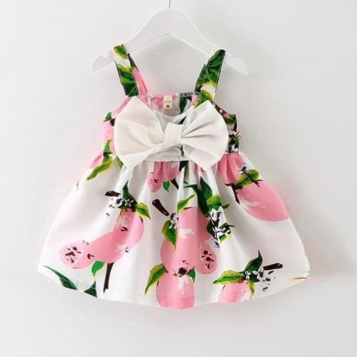prawdziwe kolan bez r kaw w bow liczne new baby dress dziewczyny ubrania po lizgu