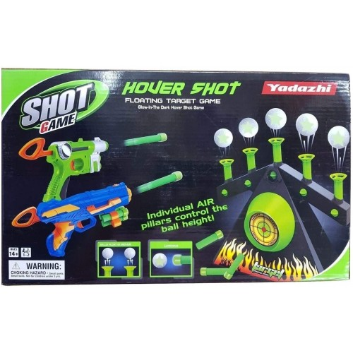 Glow In The Dark Hover Shot Floating Target Game