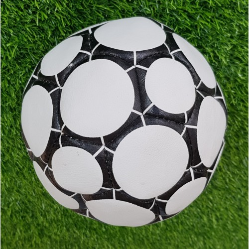 Black N White World Cup Inflatable Football Soccer Ball For Event Sports