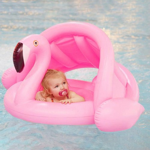 Baby Swimming PVC Environmentally Friendly Ring Inflatable Children s Sunshade Thickening Double Swimming Water Wing