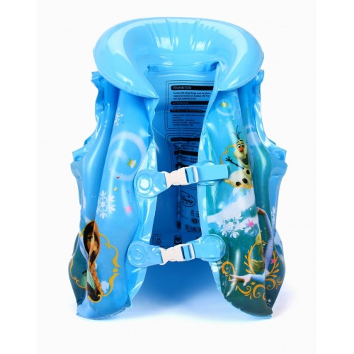 Disney Frozen Princess Child Safety Life Vest Inflatable Water Sports Protection Kid Swimming Suit Outdoor floating