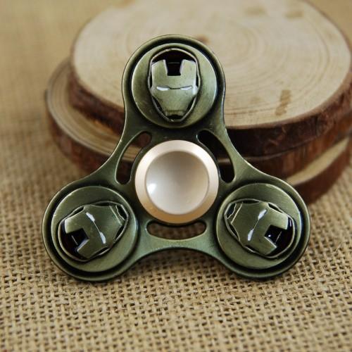 Ironman Metal Fidget Spinner Hand Spinner Finger Spinner Anti Stress for ADHD Figet