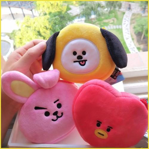 11CM new mini plush wallet bag Korean cartoon purse child girl gift sanrio