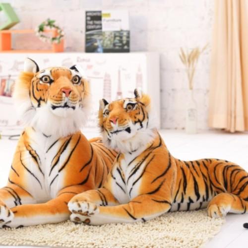 30cm Lifelike Tiger Plush Animal Doll Children Kids Simulation Stuffed Toy