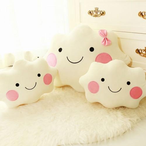 Cute plush pillow cloud Creative Cute Car Home Cushion Birthday Gift Give your child good family
