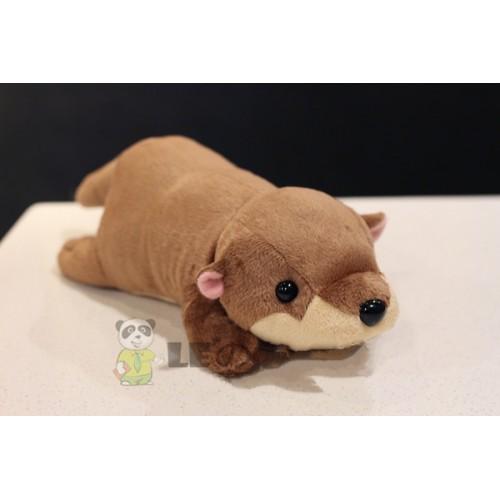 Otter baby figurine mink plush toy soft plush toy holiday 29cm