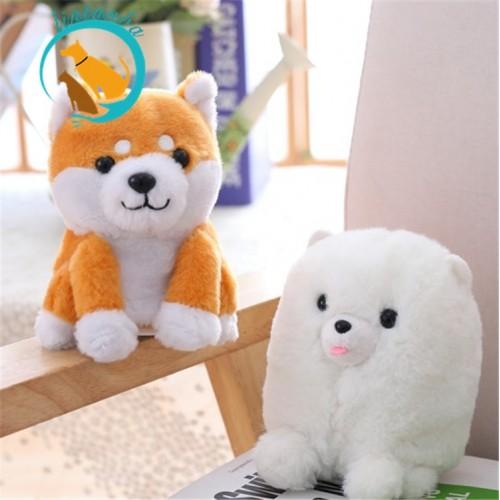 Plush Electronic Speaking Talking Sound Record Shiba Inu Dog Sweet Animals Talking Corji Toys