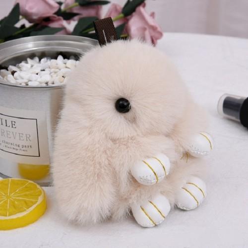 Rabbit Kawaii Keychain Stuffed Animal Plush Keychain Plush Toys Line Friends Artificial Plush 12 14 18CM