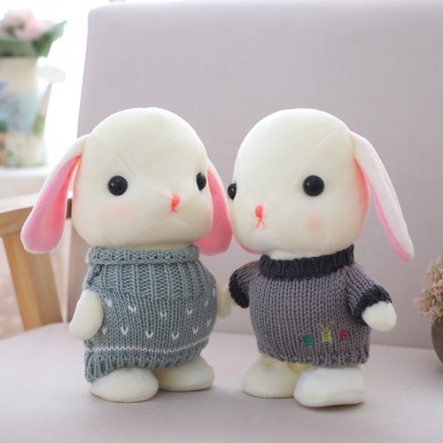 cute 22cm electric plush rabbit can walk and repeat what you said multifunctional toy can sing