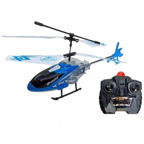 Minart Velocity Remote Control Flying Helicopter With Unbreakable Blades Infrared Sensors