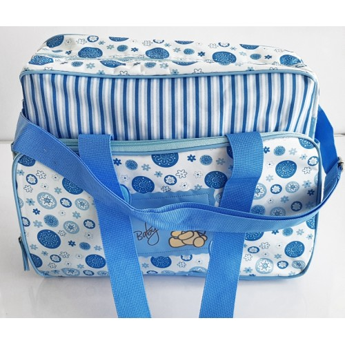 Portable Mommy Bag Bottle Storage Multifunctional Handbag Baby Diaper Make Up Bag