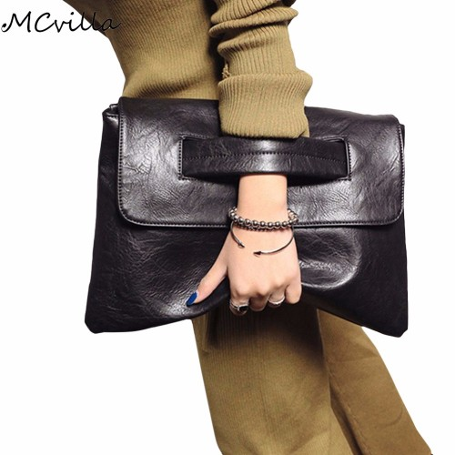 Hot Selling Women envelope clutch bag leather women Crossbody Bags for women trend handbag messenger bag
