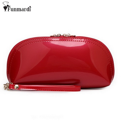 New arrival summer hot sale candy PU patent leather day clutches Evening Bag purse 15 colors