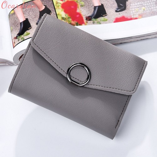 Ocardian NEW bolsas NEW Fashion Women Leather Wallet Clutch Purse Lady Short Handbag Bag Handbag With