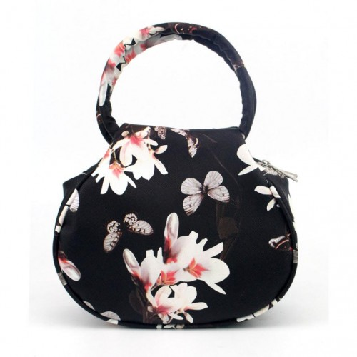 Women Bag Women Retro Small Floral leather Casual Clutch Bag Satchel Handbag Messenger Bag bolsa
