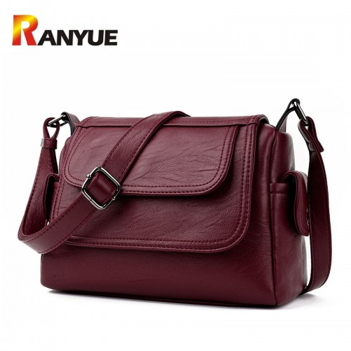 Luxury Brand Genuine Leather Bag Designer Handbags High Qualiry Single Shoulder Bag Women Messenger Crossbody Bags