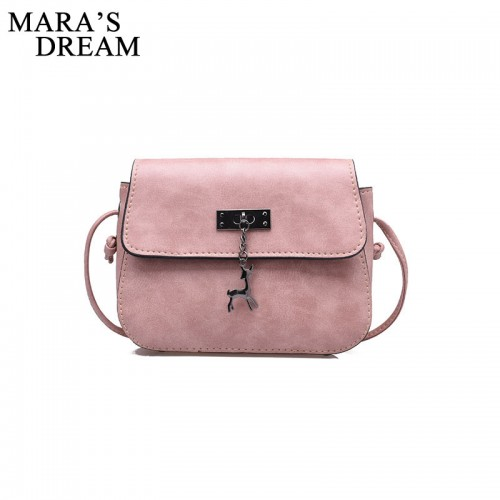 Mara s Dream Shell Women Messenger Bags High Quality Cross Body Bag PU Leather Mini Female
