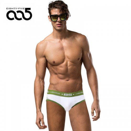85 Brand Men Underwear Men Briefs Breathable Mens Slip Cueca Male Panties Underpants Briefs 4