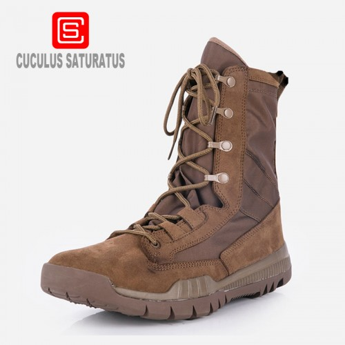 Cuculus fashion outdoor climbing hiking boots waterproof men boot new style mountain hunting