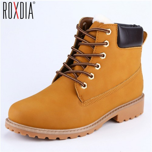 Faux Suede Leather Men Boots Spring Autumn And Winter Man Shoes