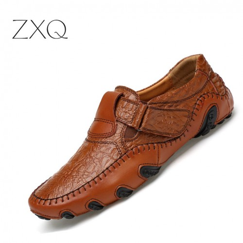 new stylist Men smart Shoes Soft Split wear Shoes (1)