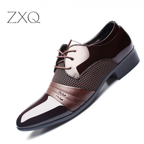 new stylist Men smart Shoes Soft Split wear Shoes (12)