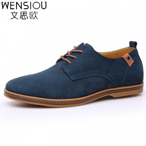 new stylist Men smart Shoes Soft Split wear Shoes (17)