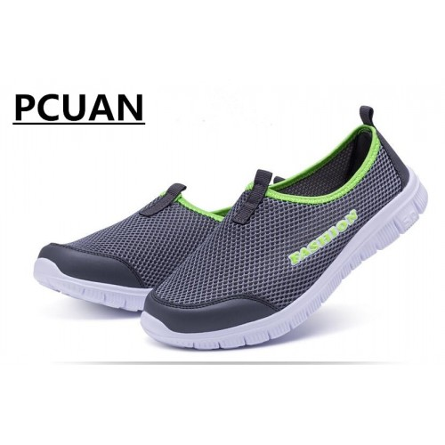 Men s Summer Shoes Comfortable Men Casual Shoes Mesh Breathable Loafers Slip