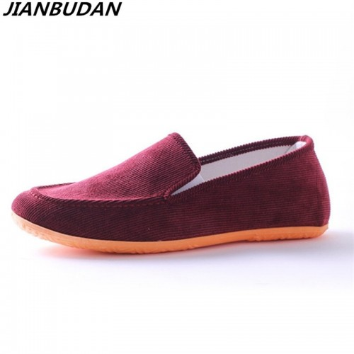 men casual flat heels Breathable canvas lovers outdoor leisure shoes student flat shoes new canvas