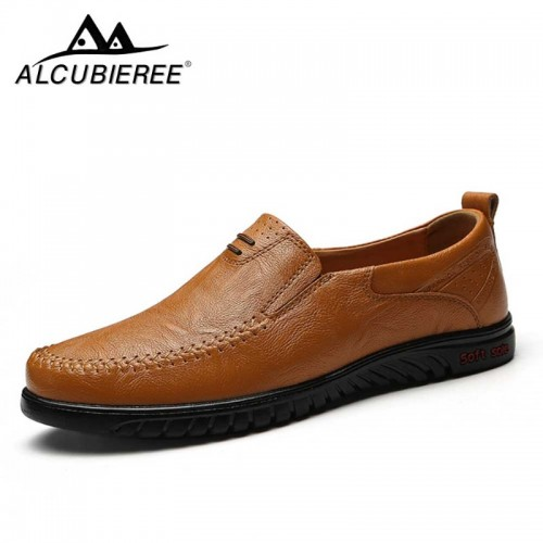 Big Size New Arrival Split Leather Men Casual Shoes Fashion Top Quality Driving Moccasins Slip On
