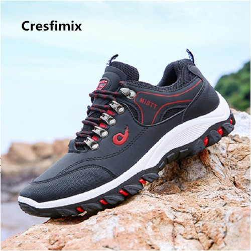 Cresfimix baskets hommes male fashion high quality autumn outside sneakers men casual blue stylish trainers man