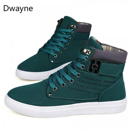 Dwayne Men s vulcanized shoes Spring Autumn Men shoes High quality frosted suede casual shoes