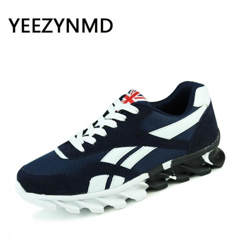 Men Casual Shoes Lace up Red Blue Spring Autumn Mens comfortable Breathable Footwear