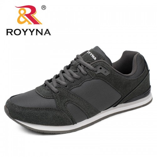 ROYYNA Spring Autumn New Style Men Casual Shoes Lace Up Breathable Comfortable Men Shoes Sapatos Masculino