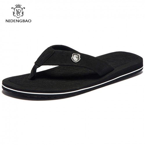 Summer Fashion Men flip flops Beach Sandals for Men Flat Slippers Non slip Shoes
