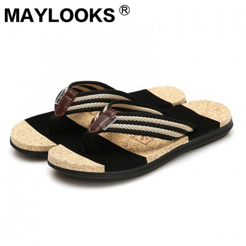 Summer flip flops slippers men s beach slippers couple slippers