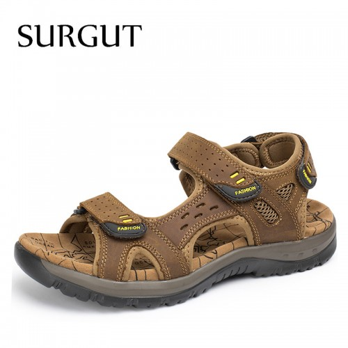 Famous Brand Casual Men Sandal Fashion Plastic Summer Beach Water Shoes (21)