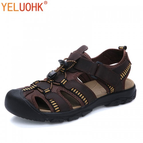 Famous Brand Casual Men Sandal Fashion Plastic Summer Beach Water Shoes (28)