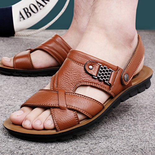 Famous Brand Casual Men Sandal Fashion Plastic Summer Beach Water Shoes (5)