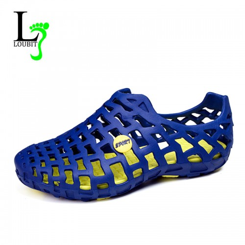 Famous Brand Casual Men Sandal Fashion Plastic Summer Beach Water Shoes (7)